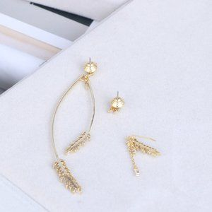 Henri Bendel Three-Piece Earrings